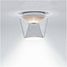 Modern Simple Transparent Metal & Glass Ceiling Lamps LED Ceiling Lights for Living Rooms