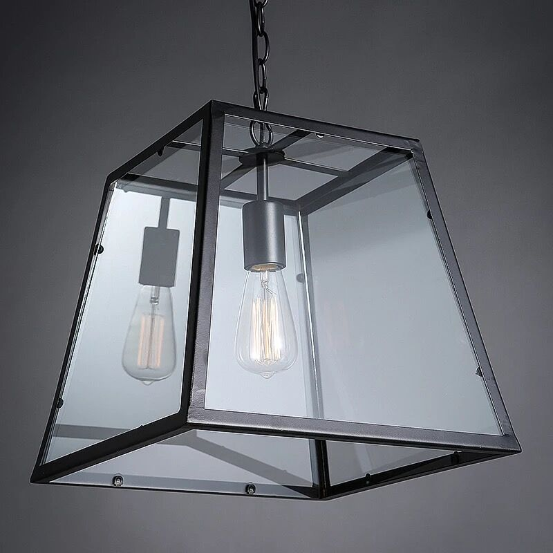 RH Glass Modern Filament Pendant lamp