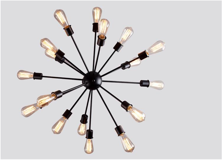 Shine Edison bulb light fixture for decorative vintage style home lighting