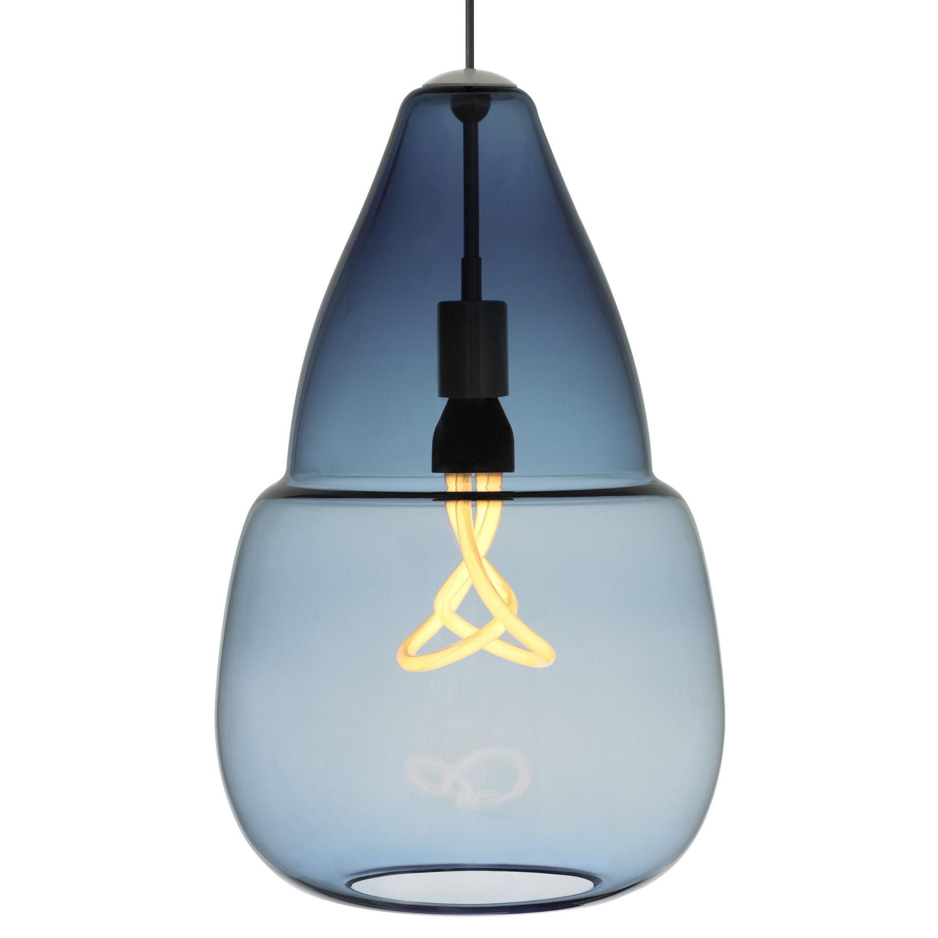 Colorful Hand-blown Glass Pendant Lamps for Home