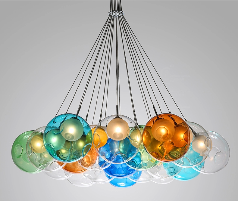 Unique Glass Pendant Lamp Design by Bocci Chandelier Light (5015101)