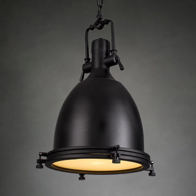 Benson Pendant lamp Loft Industrial Iron Chrome bronze Suspension Lights for Projects