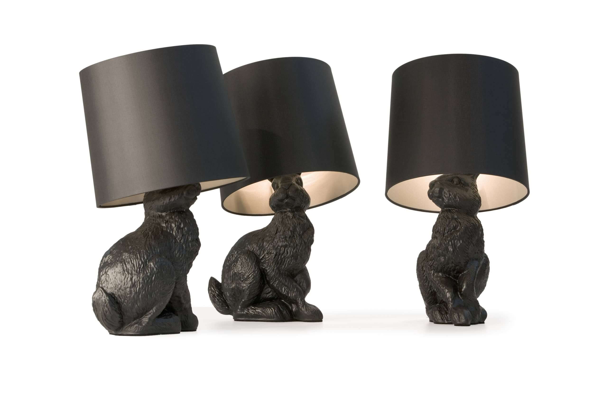 mini E27 Rabbit shape table lamp for hotel and home use decoration