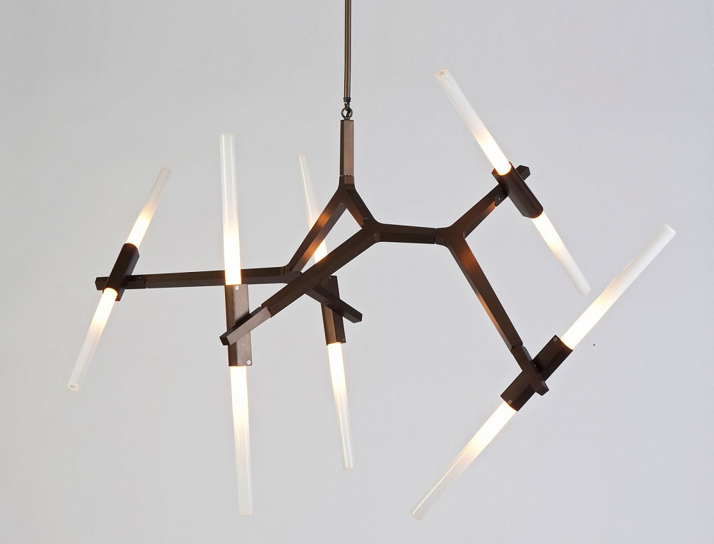 LED Contemporart Lighting Chandelier Lamp Arcylic Ceiling Light Living Dining Room