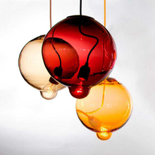 Colorful Glass Suspension Chandelier
