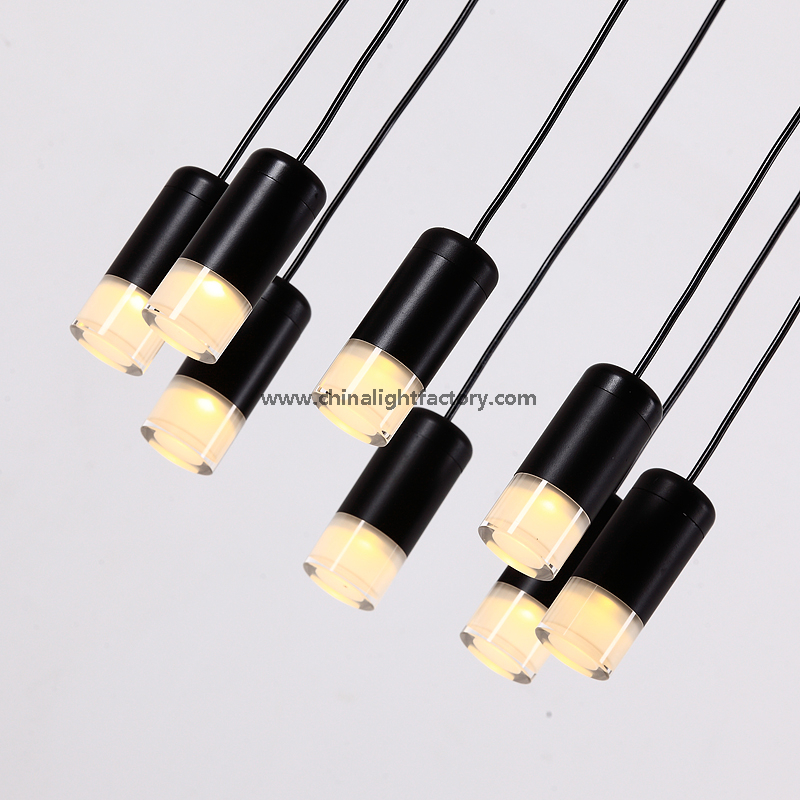 Simple Style Modern LED Acrylic Pendant Hanging Lamp for Home Decoratiion& Hotel Project (9015606)